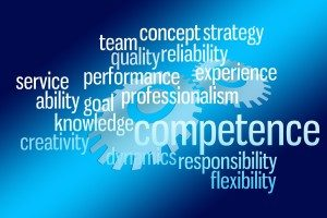 teamwork, competence, creativity, knowldge, ability, service, performance, reliability, flexibility